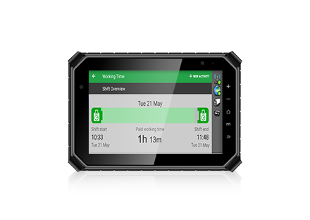 "8"" Flagship Rugged MDT Tablet Terminal for FMS"